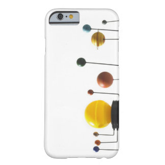 Solar system model on white background 5 barely there iPhone 6 case