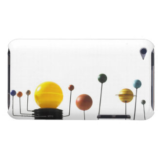 Solar system model on white background 5 iPod touch case