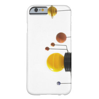 Solar system model on white background barely there iPhone 6 case