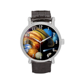 Solar System Montage Wrist Watches