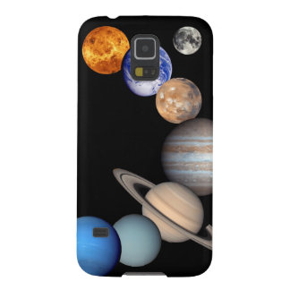 Solar System Montage JPL Planet Photos Galaxy S5 Cases