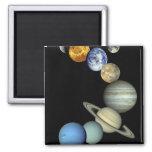 Solar System Montage Magnet