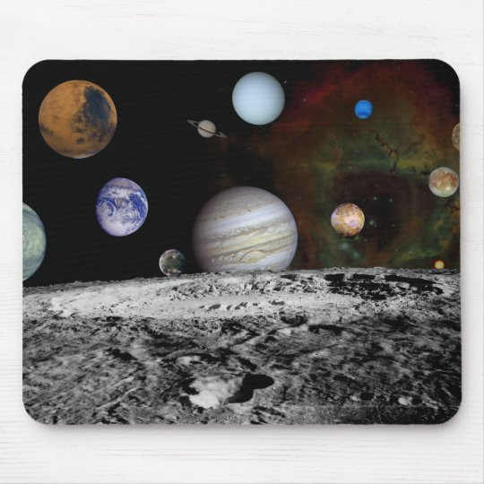 Solar System Montage Mouse Mat