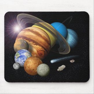Solar System Montage Mouse Mat