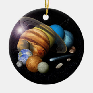 Solar system christmas tree decorations baubles - Solar system decorations ...