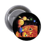 Solar System Planets Button
