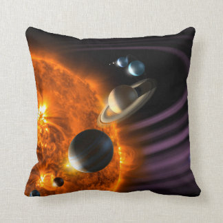 Solar System Planets Cushion