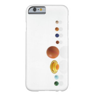 Solar system planets on white background 2 barely there iPhone 6 case
