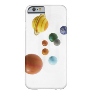 Solar system planets on white background barely there iPhone 6 case