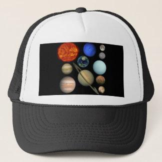 Solar system trucker hat