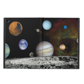 Solar System Voyager Images Montage Space Photos iPad Air Covers