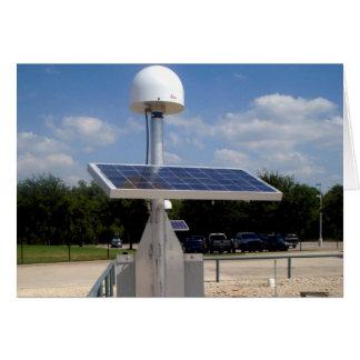 Solar Technology Greeting Card