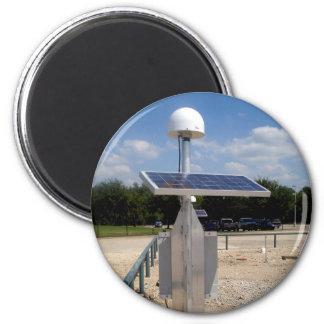 Solar Technology Fridge Magnet