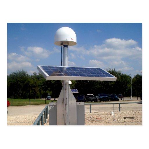 Solar Technology Postcard