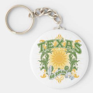 Solar Texas Key Ring