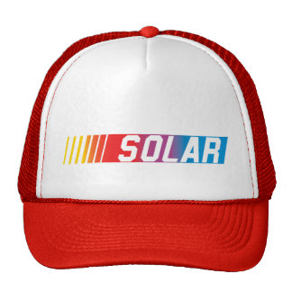 Solar Trucker Hat