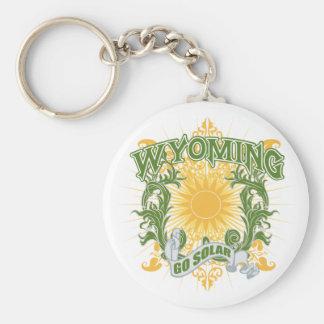 Solar Wyoming Key Ring