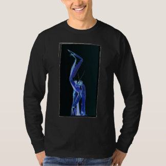 Solarized and Cross Processed Praying Mantis by KL T-Shirt