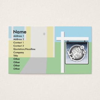 Sold - Business Business Card