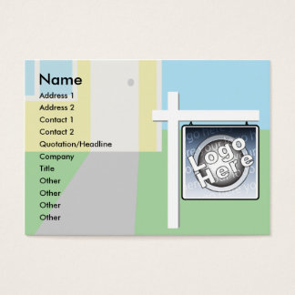 Sold - Chubby Business Card