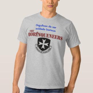 Soldado Boricua - Borinqueneers T-shirt
