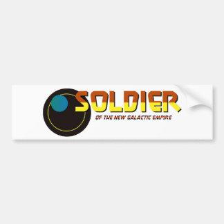 Solder of the New Galactic Empire Bumper Sticker