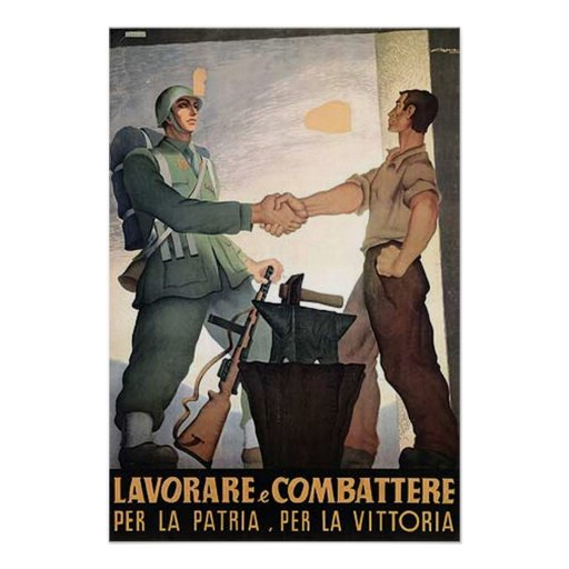 Soldier and Worker Poster