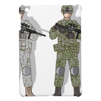 Soldier Full Gear iPad Mini Cases
