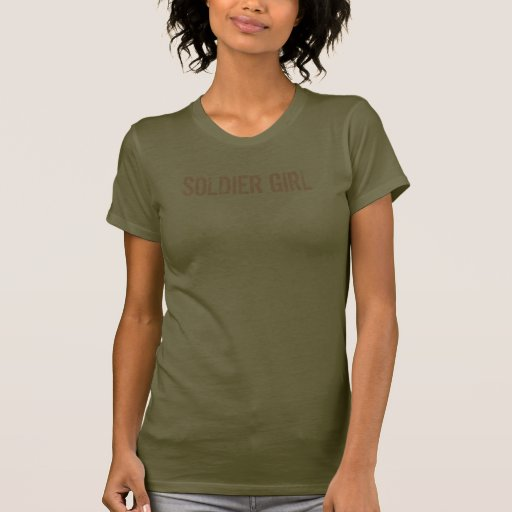 SOLDIER GIRL CAMO SHIRT