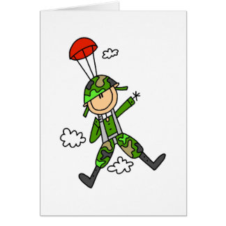 Soldier Jumper Greeting Card