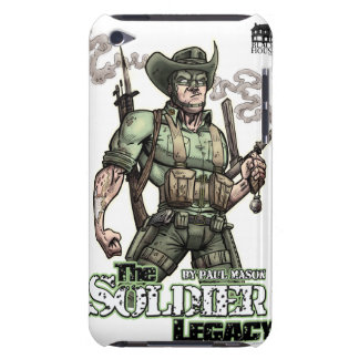 """""""Soldier Legacy"""" Armed and Ready iPod Touch Case"""