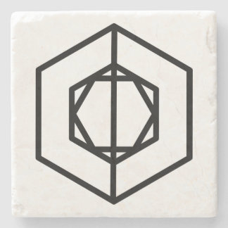 Soldier (+) / Marble Stone Coaster