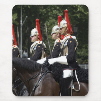 Soldier of the Household Cavalry in London Mousepa Mouse Pad