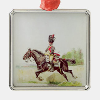 Soldier of the Imperial Guard on Horseback, 1898 Christmas Ornament