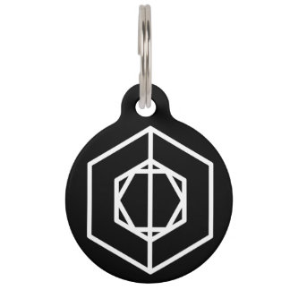 Soldier (+/-) / Round Large Pet Tag