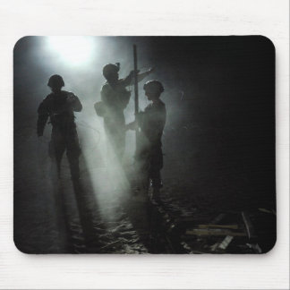 Soldier s Silhouette 17 Mousepad