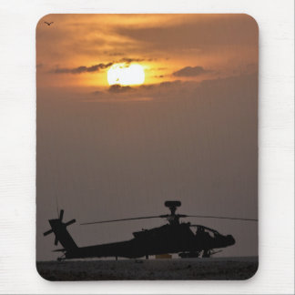 Soldier s Silhouette 21 Mouse Pad