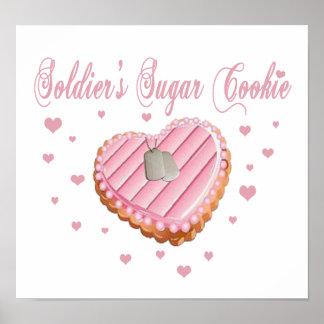 Soldier s Sugar Cookie Poster
