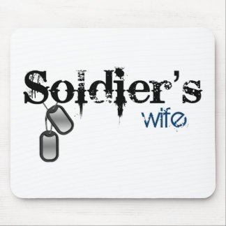 Soldier s Wife Mouse Mat