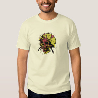 Soldier skull Caveira de soldado Soldat Schädel Cr T-shirt