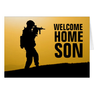 Soldier Welcom Home Card