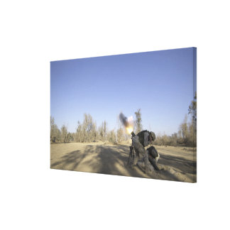 soldiers 2 canvas print