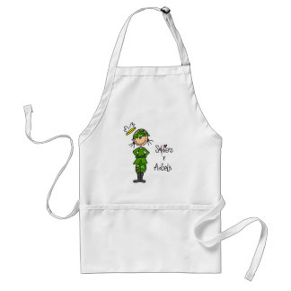 Soldiers Are Angels Adult Apron