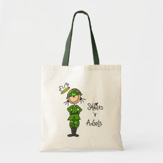 Soldiers Are Angels (Female) Tote Bag
