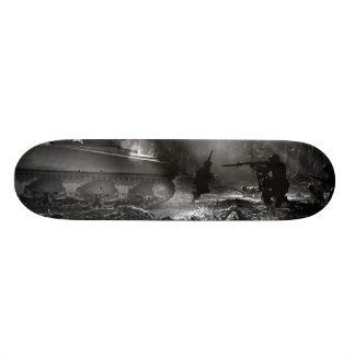 Soldiers at Bougainville (Solomon Islands) 1944 Skateboard