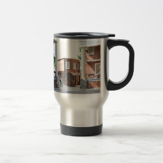 Soldiers Barracks on Governor's Island Stainless Steel Travel Mug