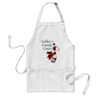 Soldiers Candy Cane Standard Apron