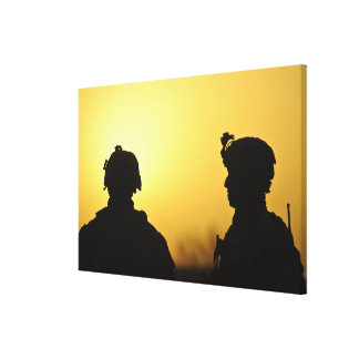 soldiers canvas print