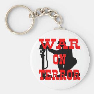 Soldiers Cross 9-11 War On Terror Keychain