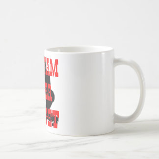 Soldiers Cross Vietnam Never Forget Basic White Mug